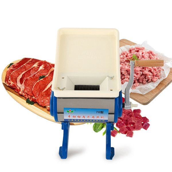 commercial meat slicer Stainless steel slicer Wire cutter household meat cutting machine