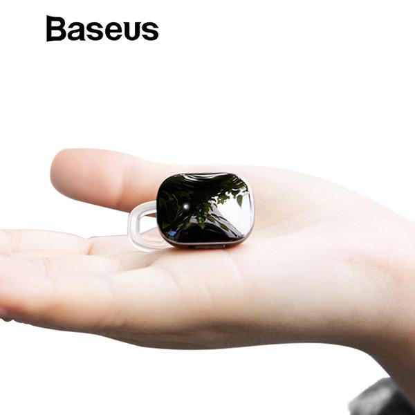 Baseus Mini Auricolare Bluetooth senza fili per iPhone X 8 Samsung S9 S8 Auricolare stereo Bluetooth senza fili con auricolari con microfono