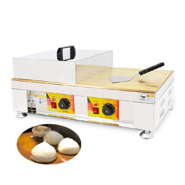 BEIJAMEI Commercial Electric Souffler кекс вафель железа Пушистые блинчики чайник Двуглавый суфле вафельные машина