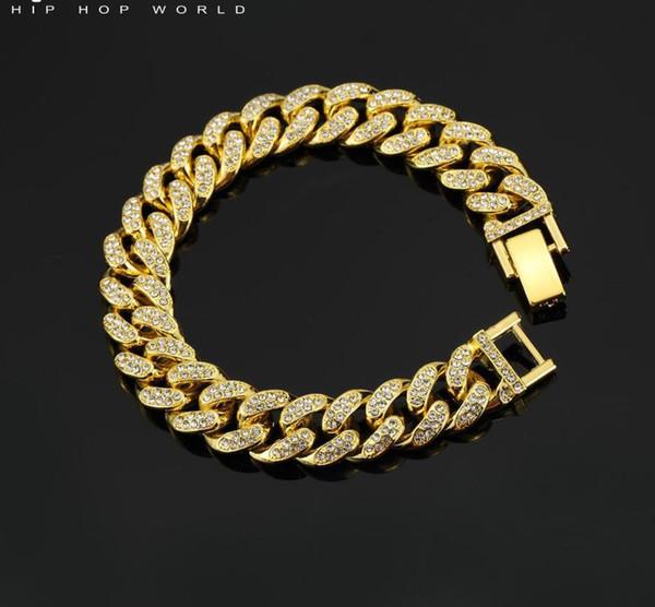 Bracciale in oro 21 cm