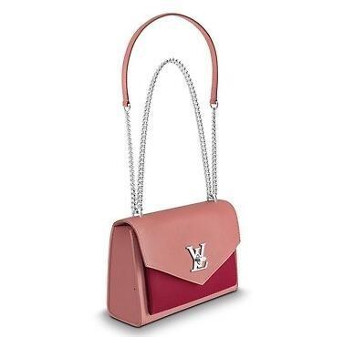 vvtisks9 M51492 MYLOCKME BB розового Real Caviar Lambskin Le Boy Цепных закрылки сумка сумочки плечо СУМКА TOTES