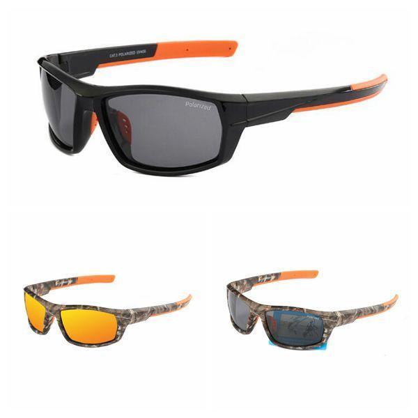 3 couleurs 8621 lunettes de soleil polarisées conduite randonnée lunettes de soleil été voyage en plein air classique lunettes rétro film Camo lunettes CCA11478 20pcs