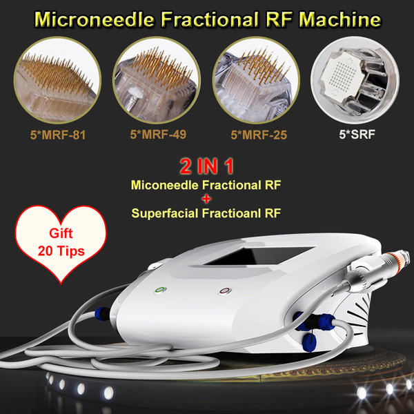 Rajeunissement professionnel de la peau lifting rf microneedle fractionnaire machine le plus récent microneedle fractionnel RF soins de la peau beauté équipement