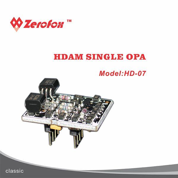 2 ADET Tek çıkış HDAM HI FI yükseltme cihazı Amplifikatör Modülü HD 07 tek Ayrık Operasyonel Amplifikatör kulaklık aksesuarı OPAMP