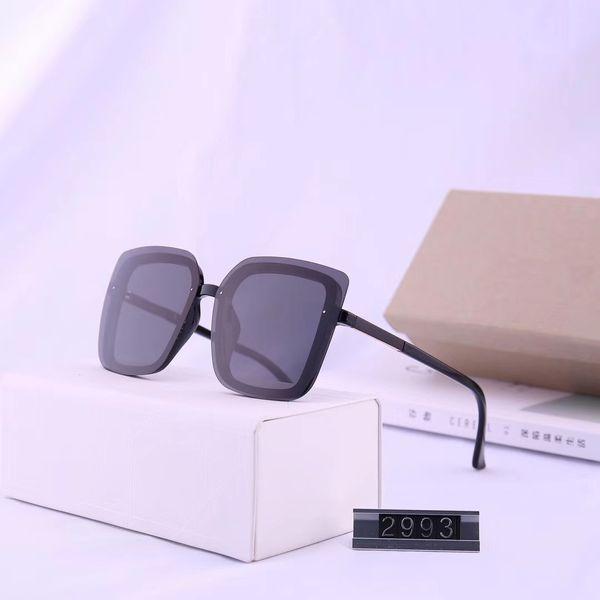 Luxury-Designed sunglasses -2019 ladies fashion rimless trend polarized sunglasses hd polarized lenses 2993