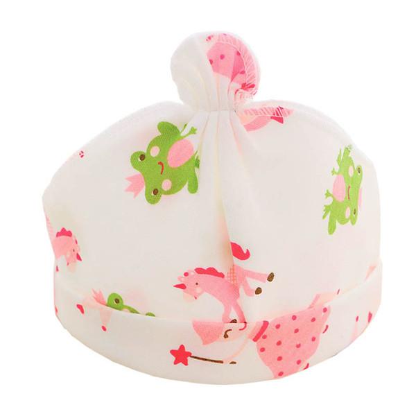 Cappellini per bambini Cappellini per bambini stampati in cotone 100% per 0-9 mesi Accessori per neonati Mostra regalo Natale