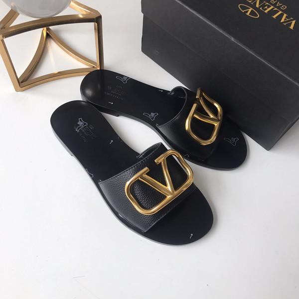 2019 новое качество Мода Люкс High Top женские плоские туфли Марка удобные и здоровые повседневные дикие летние сандалии женщин