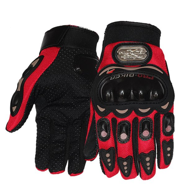 motorcycle racing glovesfull finger screen touch sports bike cycling knight cross country sun protection windproof mitten c39