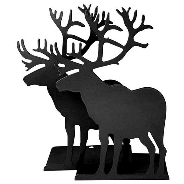 book holder for reading elk metal bookends restoring ancient ways Desktop receive arrange bookends for Christmas gifts SY0167