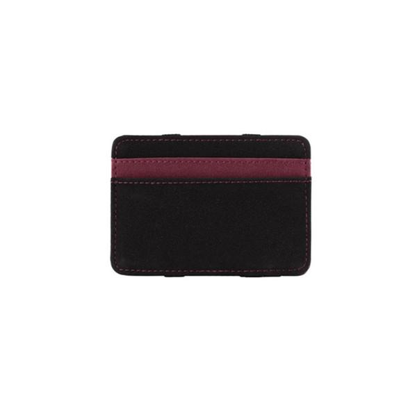 Mini Neutral Grind Magic Bifold Leather Wallet Card Holder Wallet Tarjetero Men Wallets Money Bag Male Vintage Black Short Purse