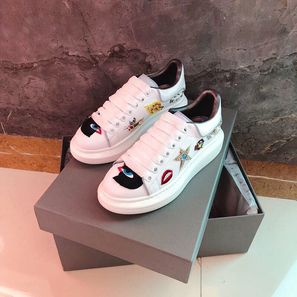 2020 New Classic Genuine Leather Women Arena Brand Flats Male High Top men Fashion Casual Lace Up Shoes xsd19050104