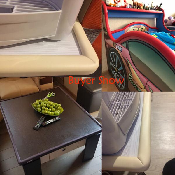 1PC 2M Baby Safety Table Desk Edge Guard Strip Home Cushion Guard Strip Safe Protection Children Bar Strip Soft Thicken Bumper
