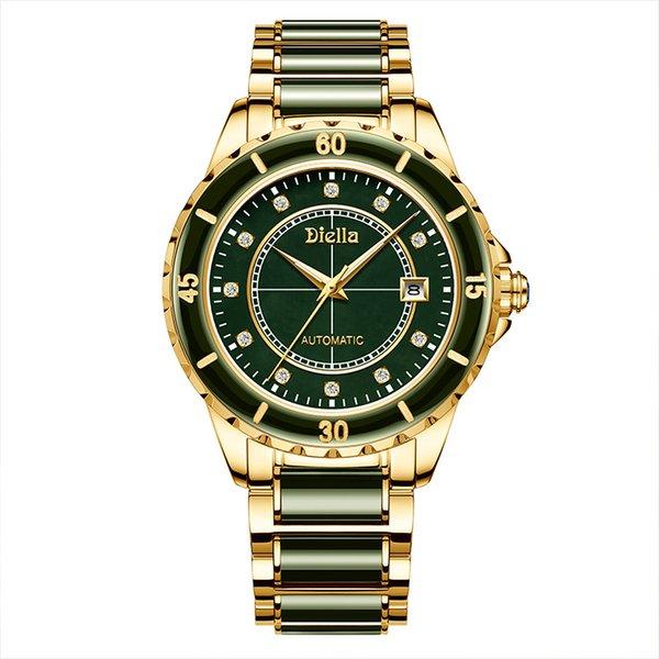 Männer Jade-Uhr