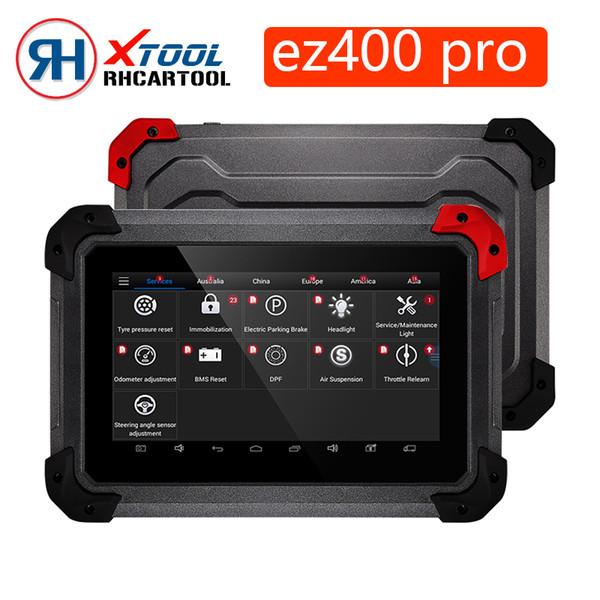 Original XTOOL EZ400 PRO Tablet Ferramenta de Diagnóstico Programa Chave, Ajuste do Odômetro e Airbag Reset Atualização Online Grátis