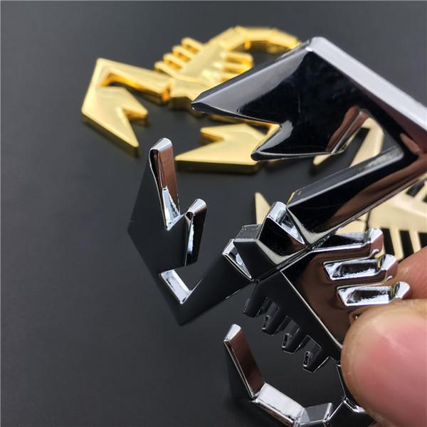 3D Scorpion Badge Autocollant Voiture Hayon Emblème Arrière FIAT ABARTH Alfa Car