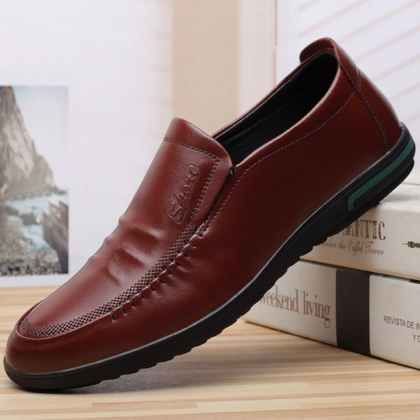 h4 New running shoes Men Dress Shoes fashion Loafers Lace Ups Monk Straps Boots Drivers Real leather Sneakers Shoes good sales