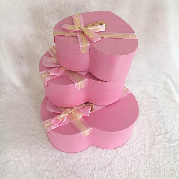Nouveau Style Emballage Fleur Emballage Boîte-Cadeau Amant Rose Savon Boîte-cadeau De Fleur 3 Pièce Costume En Forme de Boîte De Fleur