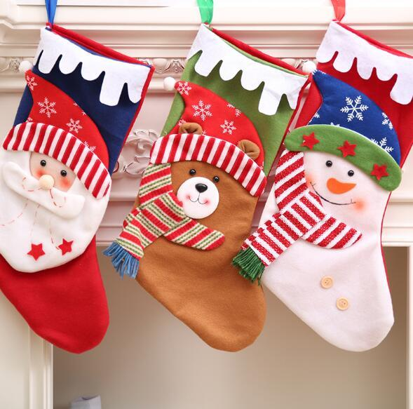 Creative Christmas Gifts.Wholesale Christmas Gifts Christmas Socks Christmas Gift Bags Socks Gift Bags Personality Creative Tree Pendant Creative Christmas Decorations For
