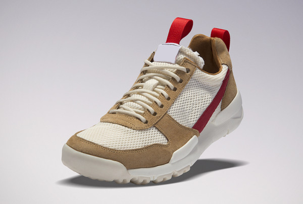 Tom Sachs x Craft Mars Yard 2.0 TS Joint Limited Sneaker Best Quality Natural Sport Red Maple Authentic Running Shoes With Original box