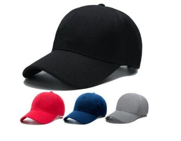 Toptan Özelleştirilmiş Erkek Kız Bahar Sonbahar Beyzbol Şapkaları daha fazla renk daha stil çocuk şapkaları