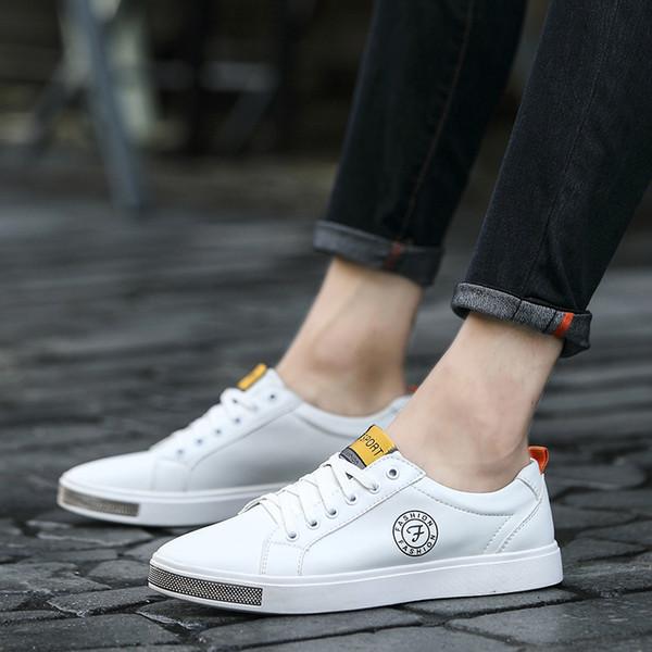 Neue Männer Schuhe Leder Männer Trend Komfortable Qualität Entspannung Sommer Niedrigen Top Studenten Wohnungen müßiggänger