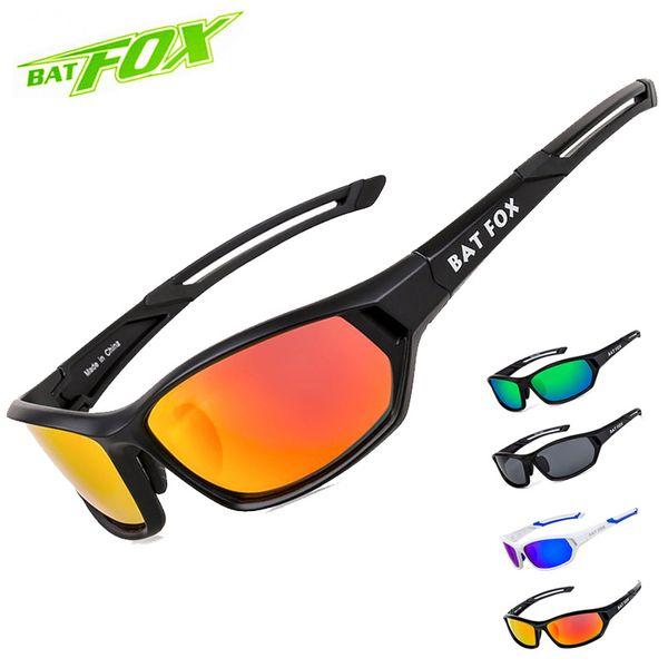 BATFOX Polarisieren Radfahren Brillen Männer MTB Fahrrad-Brillen Outdoor-Sport Golf Sonnenbrille Wandern Sonnenschutz-Gläser Angeln