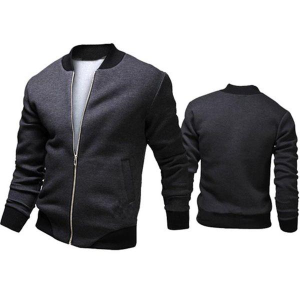 2019 Autumn Coat Batch New Men's Korean Version Of The Zipper Casual Loose Jacket Baseball Uniform Long-sleeved Sweater