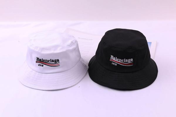 2 Farben geizig Krempe Hüte Sommer SunBucket Hut Schutz Angeln Marke Bob Boonie Bucket Hats Sommer Caps schwarz weiß