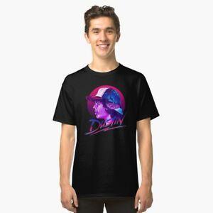 Stranger Things Dustin Men's BlaWholesale T shirt