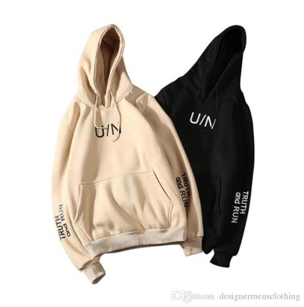Lettres Designer Imprimer Hoodies manches longues à capuche Hommes Sweat-shirts Automne Vêtements Homme actif