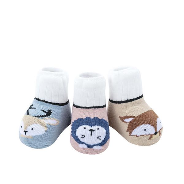 0857d491a2 sneakers infantili Calzini per neonato Calzini per neonato autunno e  inverno puro cotone 0-1