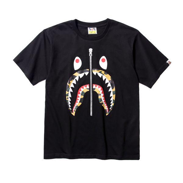 Neueste Bestseller Sommer Lu Xury Marke Männer APE Tarnungsdruck T-Shirt Männer und Frauen Mode Top Designer Alphabet Stickerei T-Shirt