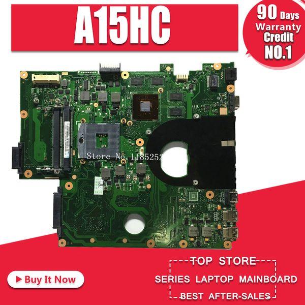 Para ASUS A15HC Laptop motherboard REV: 2.0 REV: 2.1 Mainboard 100% testado Bom trabalho