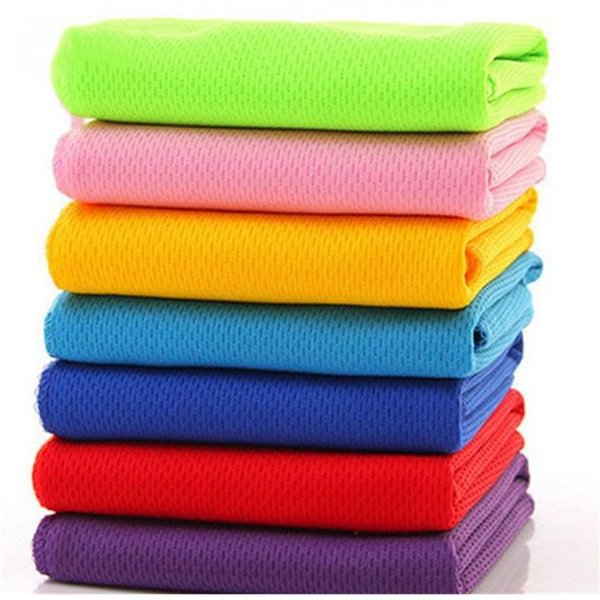 New sports towel heatstroke cooling artifact ice towels magic ice towel hat wipe sweat towel T8I026