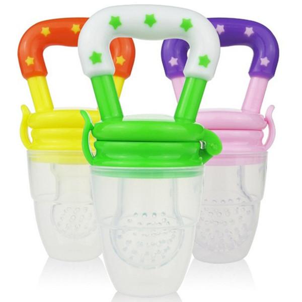 Nipple Fresh Food Silicone Fruit Pacifier Baby Fruit Juice Feeding Pacifier Funny Baby Teether Baby Fresh Food Feeder R0125