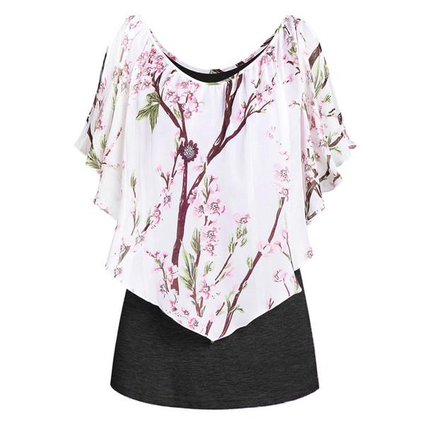 NEW Women Summer Beach Vest Top Sleeveless Blouse Casual Tank Loose Tops T-Shirt
