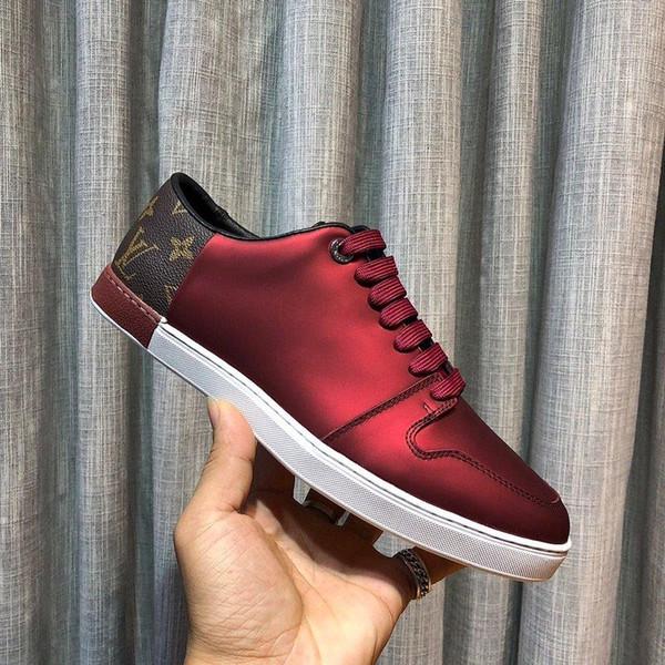 Wz6New limitado edição da série Francês high-end homens s sapatos casuais, homens s sapatos desportivos botas de moda, entrega gratuita originais caixa de sapatos 38-44