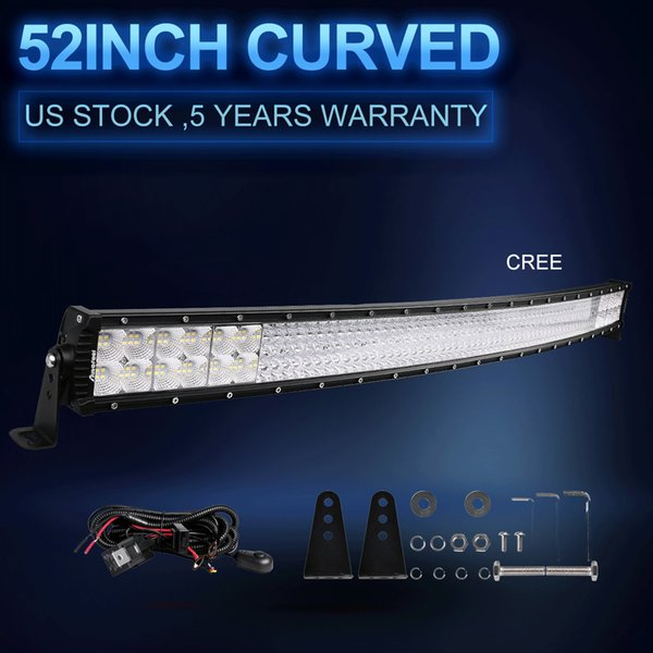 2019 Quad Row 52 6720w Curved Led Light Bar Offroad Fit For Jeep Truck Atv 50 54 Us From Jersey Best2019 3517 59 Dhgate Com