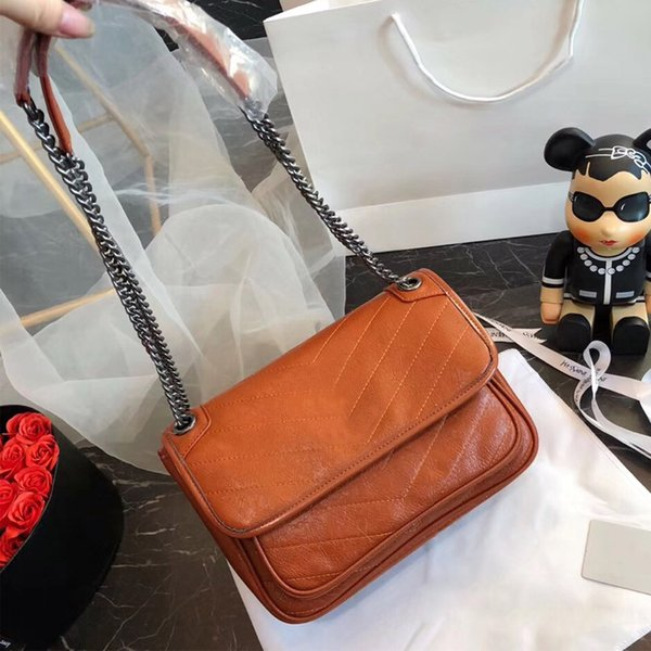 Популярные модные сумки роскошные дизайнерские женские цепочки, женские сумки через плечо, сумки для сообщений и бесплатная доставка