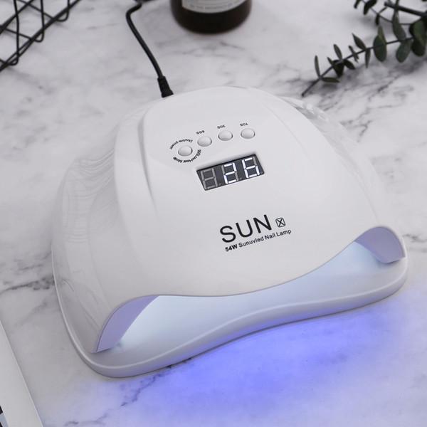 Sun X/x9 Plus/x Plus/x2 Gel Uv Led Lamp Pro White Light Polish Machine Fast Dryer Nail Art Tools T190624