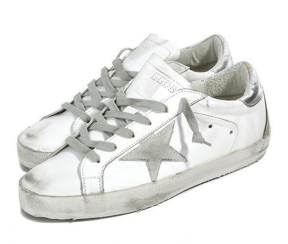 Hochwertige Cooes Gdb Old Style Sneakers aus echtem Leder Villous Dermis Freizeitschuhe Herren und Damen Luxus Superstar Trainer 36-45