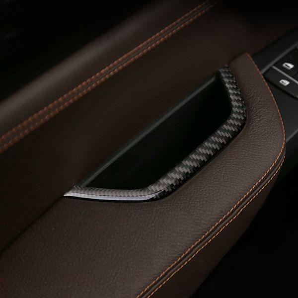 Fashion Design Car Interior Door Armrest Handle Storage Box Frame Cover Trim Vehicle Car Styling Sticker For BMW X3 X4 F25 F26 2011-2016