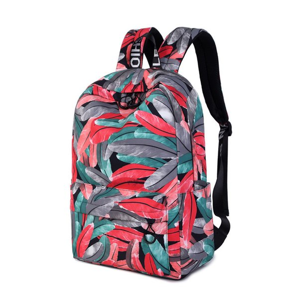 Women Backpack for School Teenagers Girls Stylish Ladies Bag Laptop Backpack Female Printing High Quality Rucksack Schoolbag