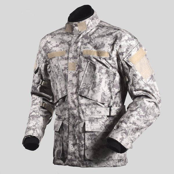 1pcs men winter waterproof warm off-road racing camouflage touring hunting jacket motorcycle jacket with 5pcs pads thumbnail