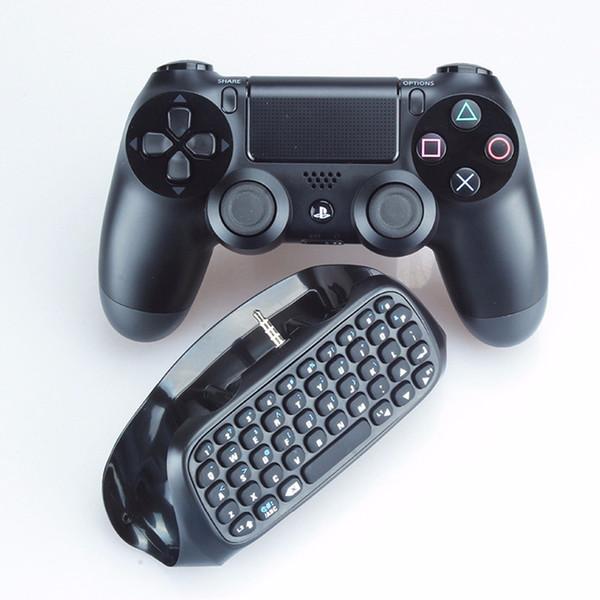 Mini 2 pc Bluetooth PS4 contrôleur de jeu clavier sans fil Portable pliant ultra mince poche en alliage d'aluminium clavier Claviers