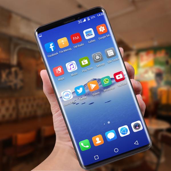 Vente chaude P20 Pro Téléphone portable MTK6580 octa core 3G 5.8 pouces 512 Mo RAM 4G Rom peut montrer 4G RAM 32G téléphone portable