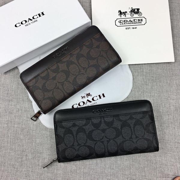 Titular do cartão da carteira dos homens carteira organizador de bolso Mens Best Selling pacote de cartão de moda saco do telefone móvel