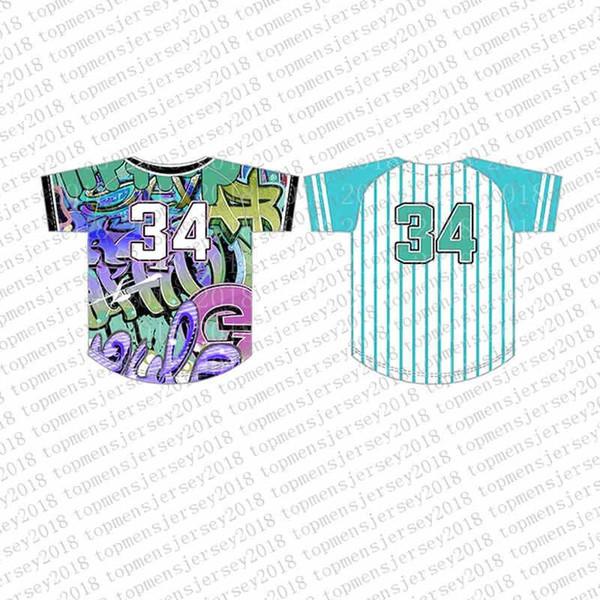 Top del camisetas de béisbol para hombre bordado Logos Jersey envío libre al por mayor barato Cualquier nombre de cualquier número tamaño M-XXL 77