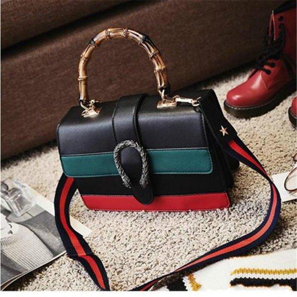 Le donne nuove borse Euramerican Fashion designer baboo tote bag borsa a tracolla forma messenger vendita calda 2017