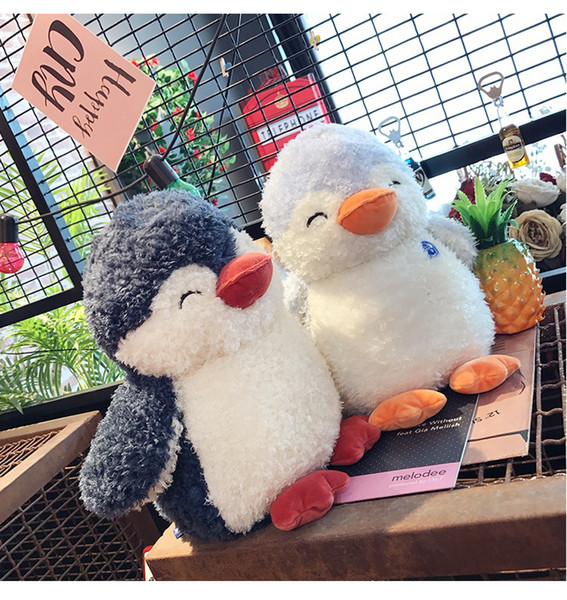 Pingouin bébé jouets en peluche 25cm35cm câlin réconfortant en peluche poupée Pingouin bébé compagnon sommeil poupées en peluche jouets nouveauté 500 pièce